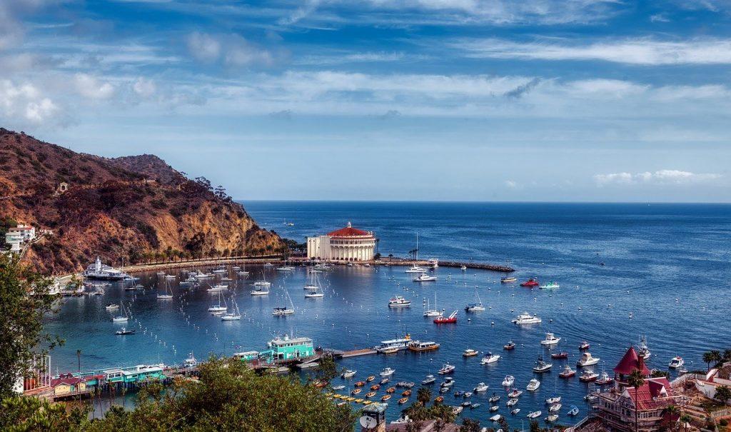 catalina island, california, america
